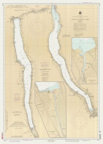 Cayuga And Seneca Lakes