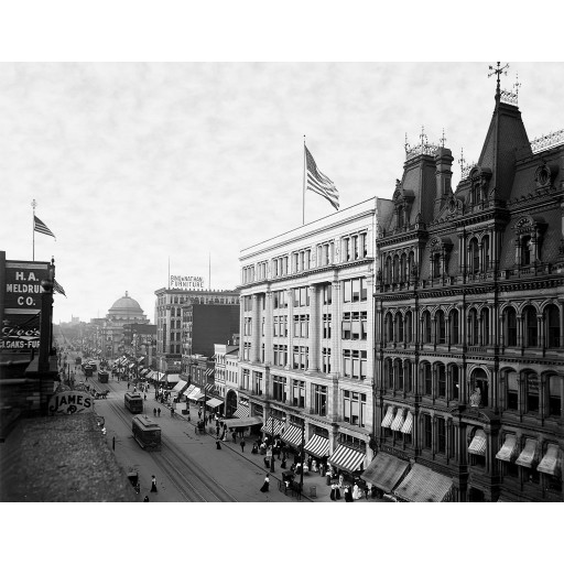 Main Street from Above, Buffalo, NY (horizontal)