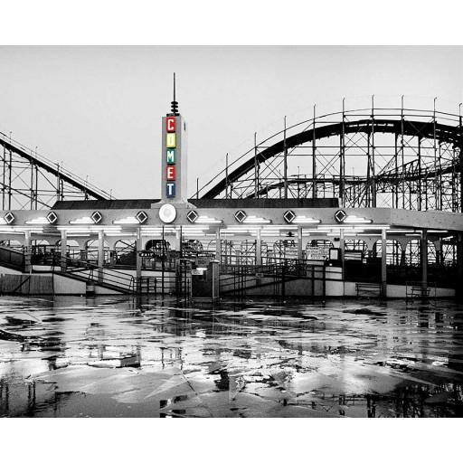 Crystal Beach Comet Rollercoaster