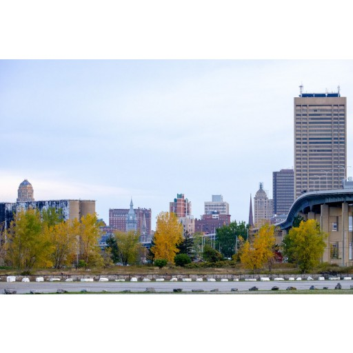 Skyway and Downtown, Autumn