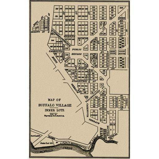 Village of Buffalo 1805