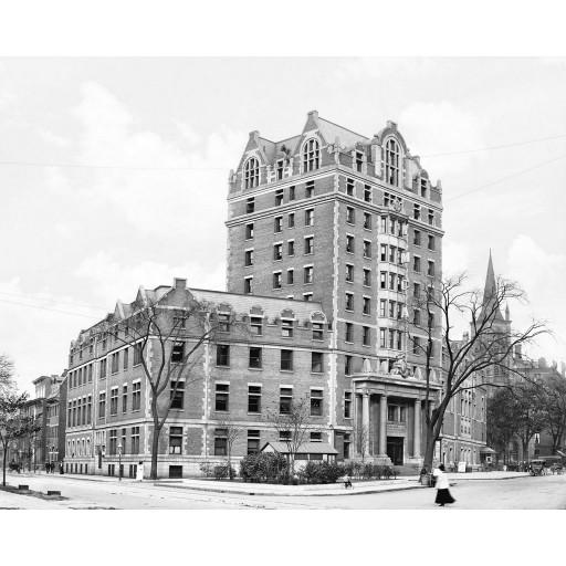 The YMCA Building, c1908