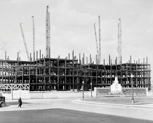 City Hall Under Construction, c1930