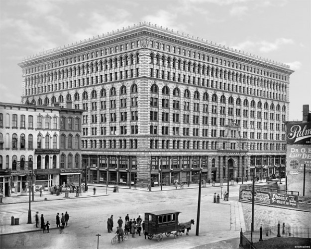 Ellicott Square Building, Buffalo, N Y  c1900