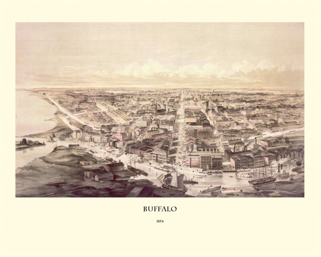 Buffalo, NY 1853