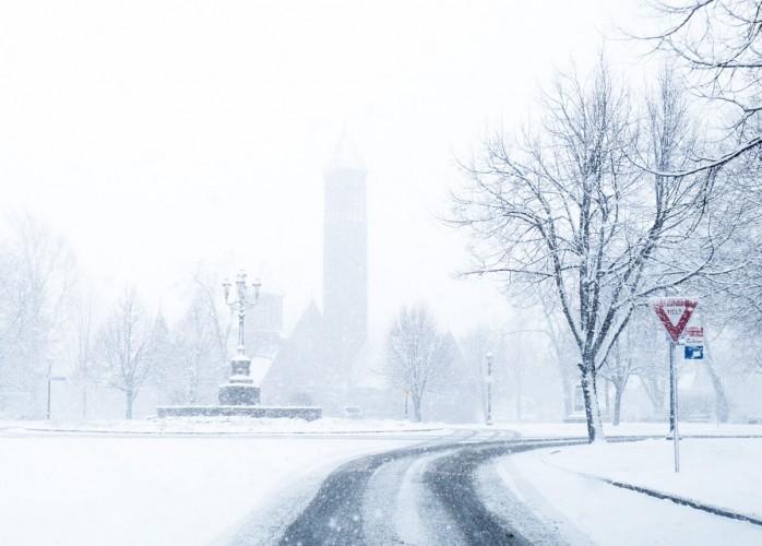 Buffalo Snow- Symphony Circle