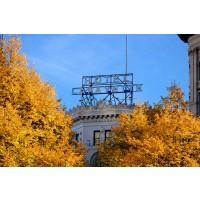Hotel Lafayette Sign, Autumn