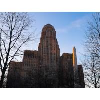 City Hall, Dusk
