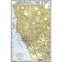 Map of Buffalo 1912