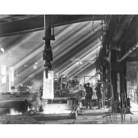 Inside Donner Steel, c1920