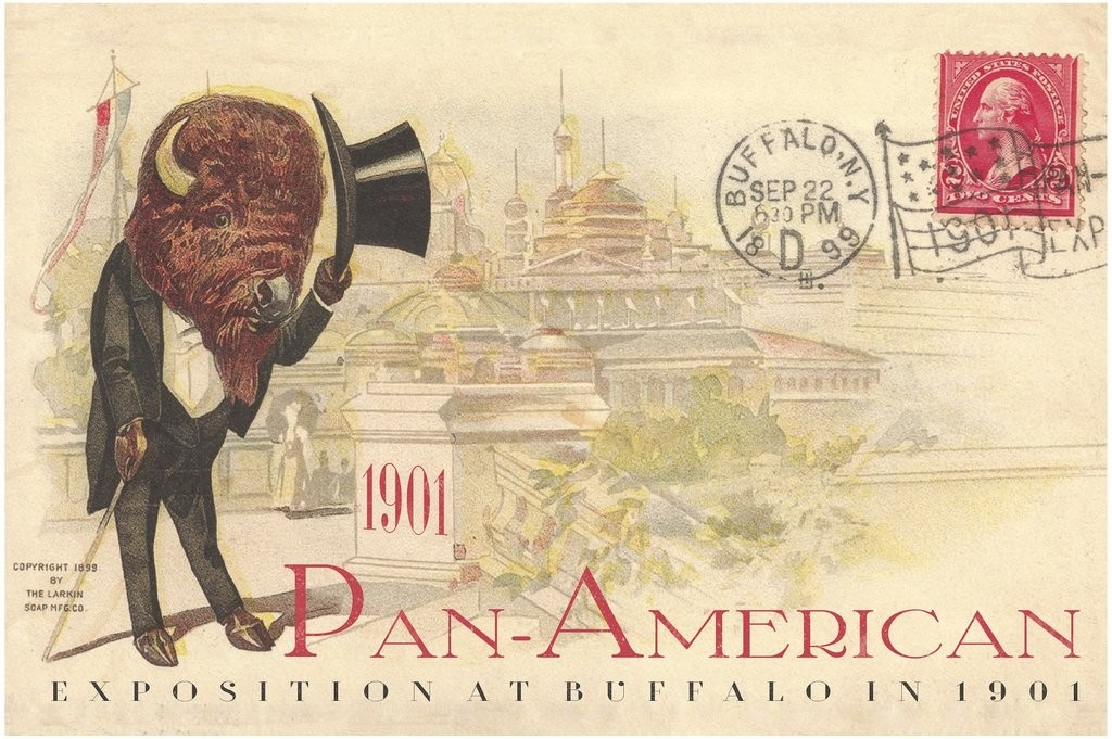Buffalo Top-hat, Pan-Am Souvenir  Poster