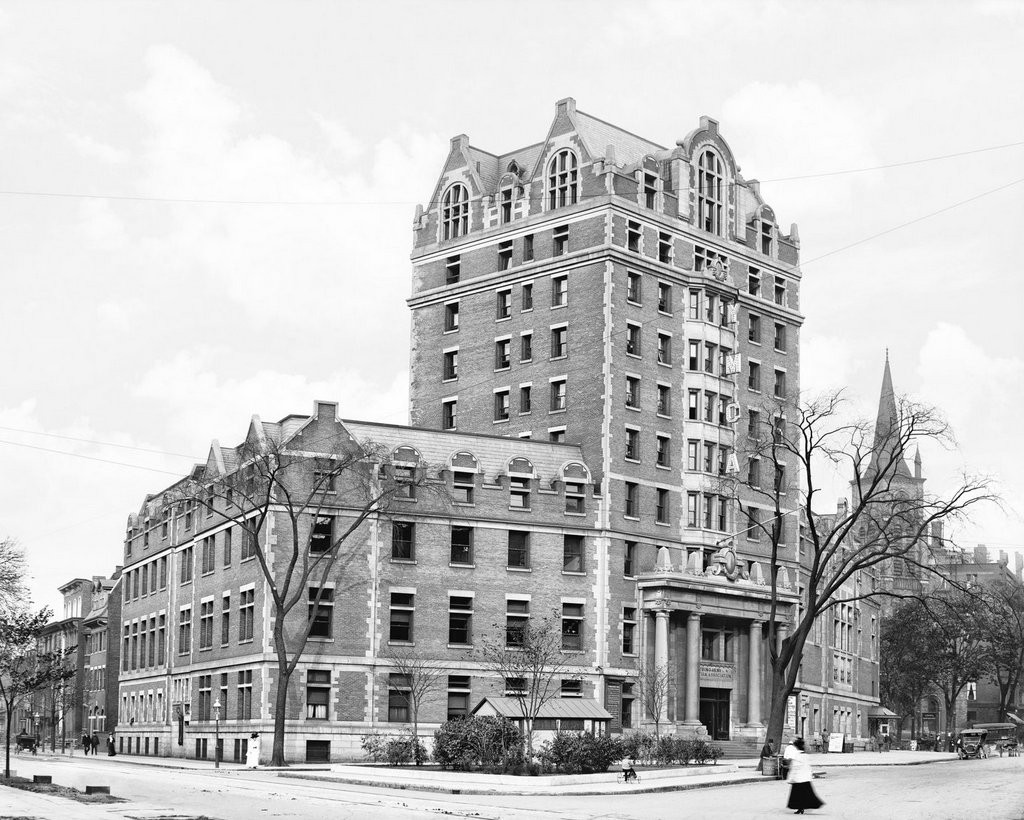 The YMCA Building, c1908