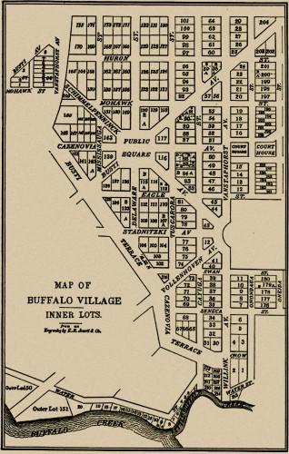 Village of Buffalo 1805