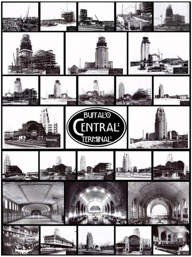 Buffalo Central Terminal Construction Montage
