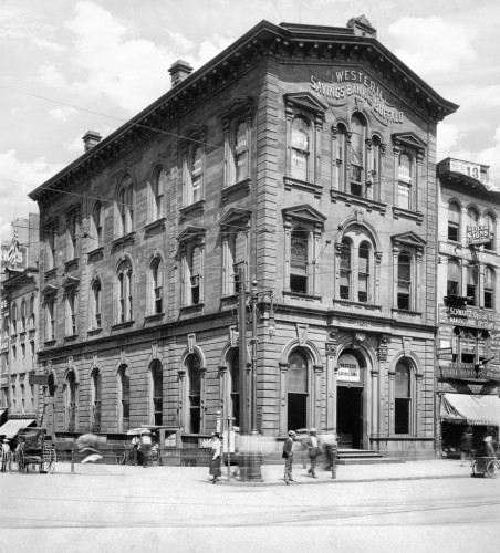 Western Savings Bank, c1895