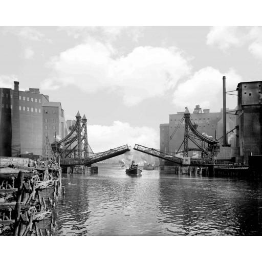 Jack-Knife Bridge, Buffalo, N.Y.