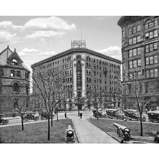 Lafayette Hotel, Buffalo, New York c.1908