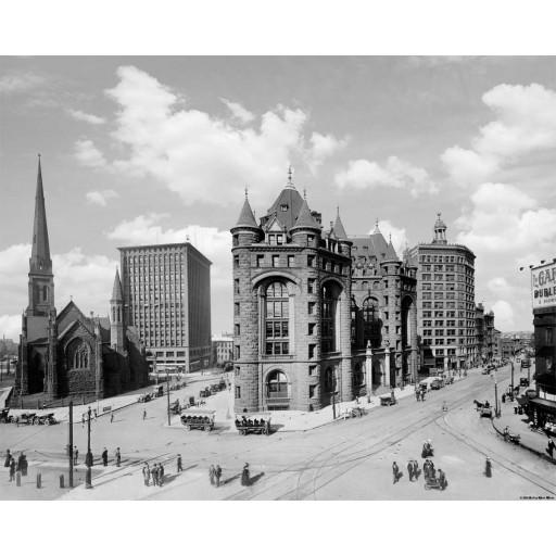 Shelton-Square, Buffalo, NY 1904