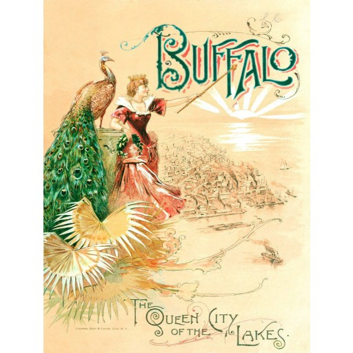 Buffalo - Queen City of the Lakes Poster