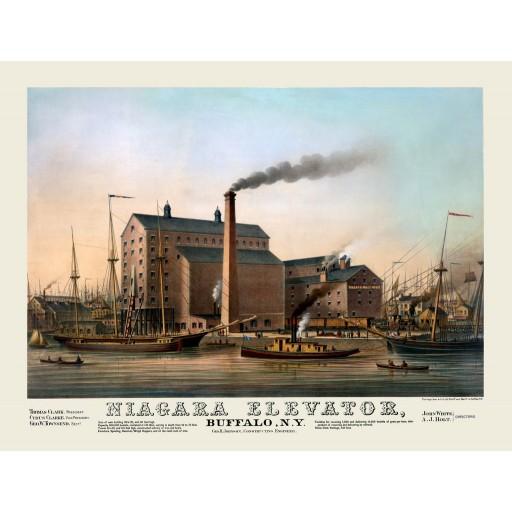 Niagara Elevator, c1870