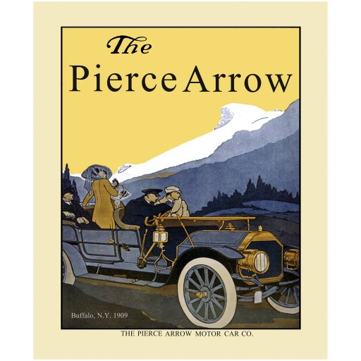1909 Pierce-Arrow Ad