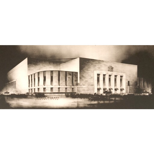 Buffalo Memorial Auditorium - Green & James