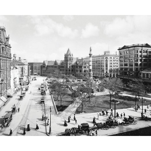 Lafayette Square, c1910