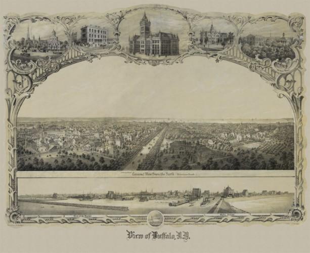 View of Buffalo, N.Y. 1832
