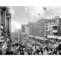 Labor Day Crowd, Main St., Buffalo, N.Y.