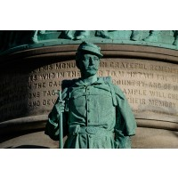 Soldiers and Sailors Monument, Detail
