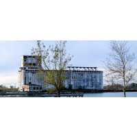 Cargill Pool Grain Elevator Panoramic