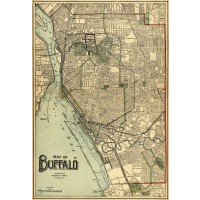 Map of Buffalo 1911