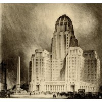 Buffalo City Hall Rendering - Dietel, Wade & Jones
