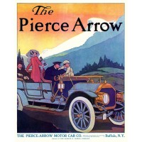 Pierce-Arrow adverstising Poster